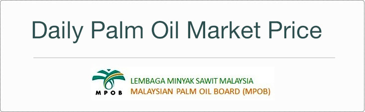 Daily Palm Oil Price Mpoc